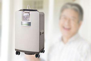 在宅酸素療法の医療機器